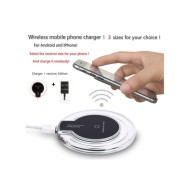 Wireless mobile Phone Charger for Andriod and Iphone Charger plus Receiver Edition